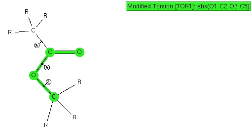 s-cis-ester-torsion-search